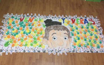 Los alumnos de Infantil conocen a don Bosco