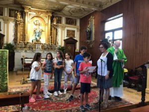 Comienzan las Eucaristías con niños