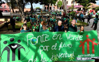 Manifestación Por El Futuro de la Juventud